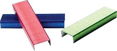 Swingline® Color Bright Staples, Assorted Colors, 1/4