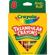 Crayola® Triangular Crayons, 8/Box