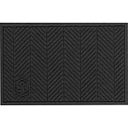 M + A Matting Waterhog™ Eco Elite Fashion Mat, 3' x 5', Black Smoke, Cleated (2241700035070)