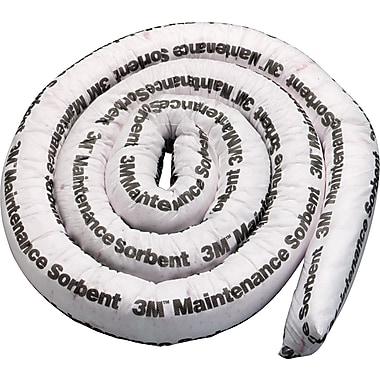 3M™ Maintenance Sorbent Mini-Boom, 3 Gallons Sorbing Volume Each, 4/Pack