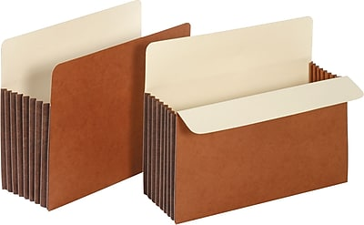 Staples® Expanding File Pocket with Tyvek® Reinforcement, 7