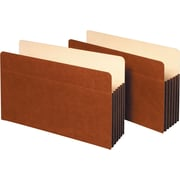 """Staples® 5 1/4"""" Expanding File Pocket with Fully Lined Tyvek® Gussets, Legal Size"""