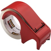Scotch Packing Tape Hand Dispenser, Red