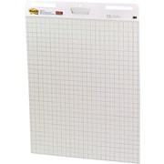 "Post-it® Easel Pad, 25"" x 30"", Faint Blue Grid, White, 2/PK, (560)"