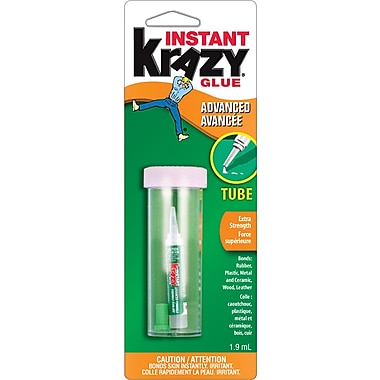 Krazy Glue® Instant Krazy Glue Advanced Formula, 1.9 mL