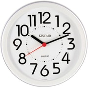 "Kincaid® 8.5"" Round Wall Clock, White"