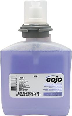 GOJO® TFX™ Luxury Foam Handwash, Cranberry, Refill, 1,200 mL., 2/Carton (GOJ-5361-02)