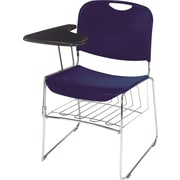 NPS® Removable Book Rack For 8500 Series Stacking Chair, Chrome