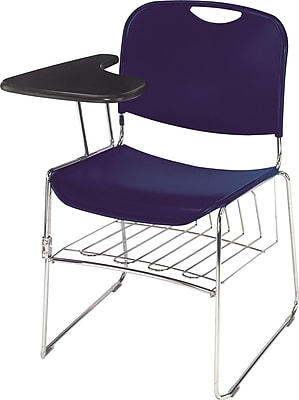 National Public Seating Optional Left-Arm Tablet for Hi Tech Compact Stack Chairs