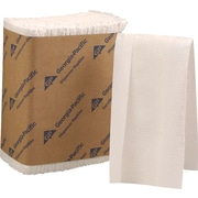 HyNap® Tall Fold Dispenser Napkins, 1-Ply, White, 10,000/Case