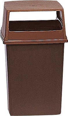 Rubbermaid Glutton® Container Base, Brown, 56 gal.