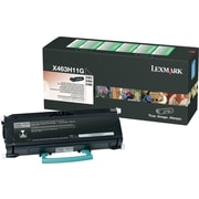 Lexmark X463H11G Black Toner Cartridge, High Yield