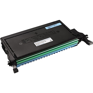 Dell P587K Cyan Toner Cartridge, High Yield