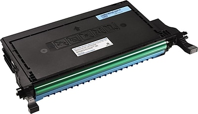 Dell P587K Cyan Toner Cartridge, High Yield