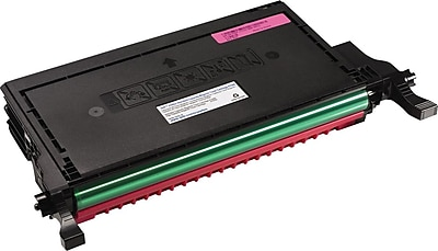 Dell K757K Magenta Toner Cartridge (G537N), High Yield