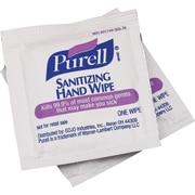 Purell® Sanitizing Hand Wipes, Individually Wrapped, 1,000/Ct
