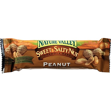 Nature Valley® Sweet & Salty Nut Chewy Granola Bars, Peanut, 1.2 oz. Bars, 16 Bars/Box