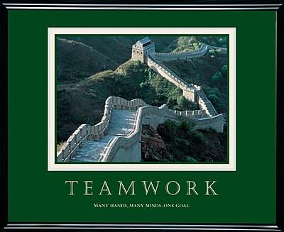 Teamwork - Great Wall Framed Motivational Print