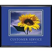 Customer Service Framed Motivational Print