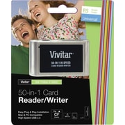 Vivitar RW-50 50-in-1 Card Reader/Writer