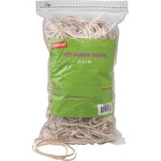 "Staples® Rubber Bands, #33, 3 1/2"" x 1/8"", 820/bag, 25 bags/Ct"