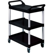 Rubbermaid® Utility Cart, Black