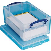 Really Useful Boxes® 9L Storage Box, Clear