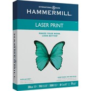 "Hammermill Heavyweight Laser Copy Paper, 8-1/2"" x 11"", 98 Bright, 28 LB, 500 Sheets"
