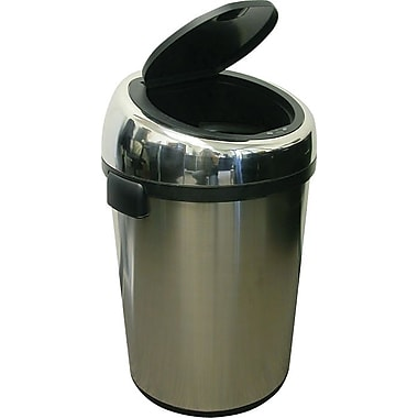 iTouchless Fully Automatic Stainless Steel Touchless Trash Cans® NX 23 gal.