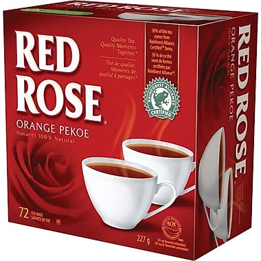 Red Rose® Orange Pekoe Tea, 72-Pack