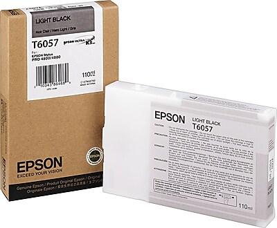 Epson 605 110ml Light Black UltraChrome Ink Cartridge (T605700)