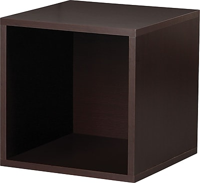 Foremost® Hold'ems Modular Cube Storage System, Espresso 15