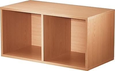 Foremost® Hold'ems Modular Cube Storage System, Honey Oak 30