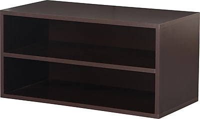 Foremost® Hold'ems Modular Cube Storage System, Espresso, 15