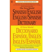 The New World Spanish/English English/Spanish Dictionary