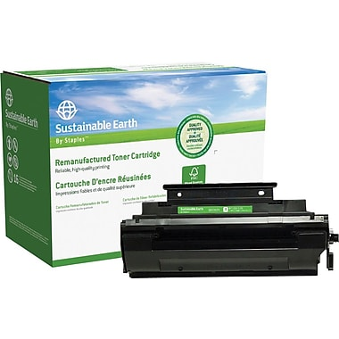 Sustainable Earth by Staples Remanufactured Black Toner Cartridge, Panasonic UG3350