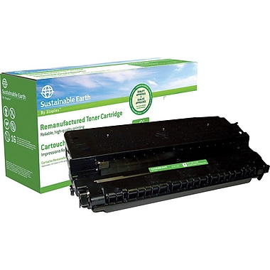 Sustainable Earth by Staples Remanufactured Black Toner Cartridge, Canon E20 (1492A002AA)
