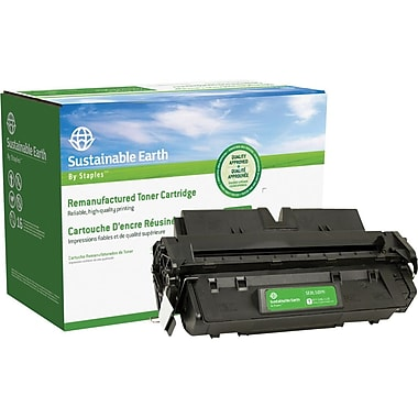 Sustainable Earth by Staples Remanufactured Black Toner Cartridge, Canon L50 (6812A001AA)