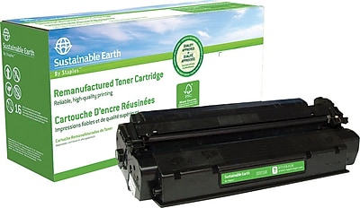 Staples Remanufactured Black Toner Cartridge, Canon S35 (7833A001AA)