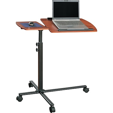 Altra Furniture Adjustable Mobile Laptop Cart