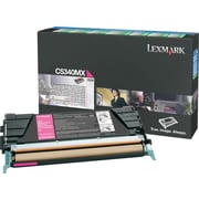 Lexmark Magenta Toner Cartridge (C5340MX), Extra High Yield, Return Program