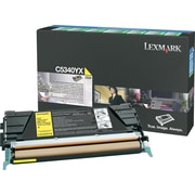 Lexmark Yellow Toner Cartridge (C5340YX), Extra High Yield, Return Program