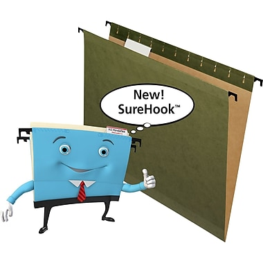Pendaflex SureHook® Reinforced Hanging File Folders Letter Size