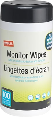 Staples Screen Wipes