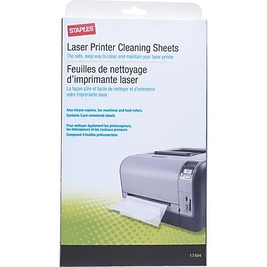 Staples® 17494 Laser Printer Cleaning Kit