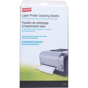 Staples Laser Printer Cleaning Kit, 3 Sheets/Pack (17494)
