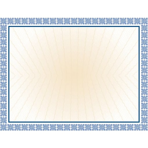 Great papers westminster blue foil certificates 15pack staples httpsstaples 3ps7is yelopaper Image collections