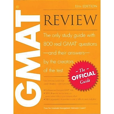 The Official Guide for GMAT Review, New Book