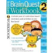 Brain Quest Workbook Grade 2