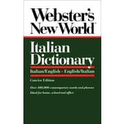 Webster's New World Italian Dictionary/Italian-English/English-Italian